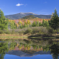 Franconia Autumn Reflections by Chris Whiton