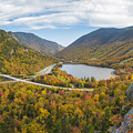 Franconia Notch Autumn View by Chris Whiton