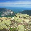 Franconia Notch From Mount Lafayette by John Burk