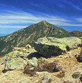 Franconia Ridge And Mount Lafayette Alpine by John Burk