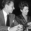 Frank Sinatra And Nancy by Underwood Archives