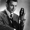 Frank Sinatra At  Nbc Radio Station 1941 by Peter Nowell
