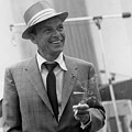 Frank Sinatra In Studio  by Peter Nowell