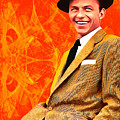 Frank Sinatra Old Blue Eyes 20160922 by Wingsdomain Art and Photography