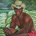 Frank The Watermelon Man by Toni Crosby