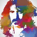 Frank Zappa Watercolor by Dan Sproul