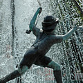 Frankenmuth Fountain Boy by LeeAnn McLaneGoetz McLaneGoetzStudioLLCcom
