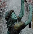 Frankenmuth Fountain Girl by LeeAnn McLaneGoetz McLaneGoetzStudioLLCcom
