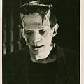 Frankensteins Monster Boris Karloff by R Muirhead Art