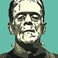 Frankensteins Monster Karloff Comic by Joy McKenzie