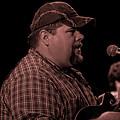 Frankie Ballowe In Sepia 8742s  by Doug Berry