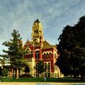 Franklin County Courthouse - Hampton Iowa by Mountain Dreams