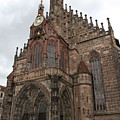 Frauenkirche - Nuremberg by Christiane Schulze Art And Photography