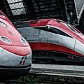 Freccia Rossa Trains. by Pablo Lopez