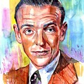 Fred Astaire Painting by Suzann Sines