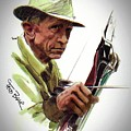 Fred Bear Archery Hunting Bow Arrow Sport Target by Movie Poster Prints
