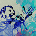 Freddie Mercury Queen by Naxart Studio