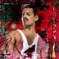 Queen Freddie Mercury by Mark Tonelli