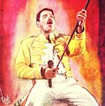 Freddy Mercury by Daniele Volpicelli