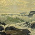Frederick Judd Waugh 1861   1940 Coast Of Maine by Frederick Judd Waugh
