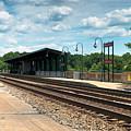 Fredericksburg Rail Station by Arthur English