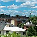 Fredericksburg Roof Tops by Arthur English