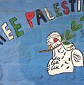 Free Palestine Peace by Munir Alawi