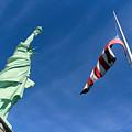 Freedom Flag by Munir Alawi