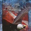 Freedom Greeting Card by William Martin