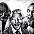 Freedom Hero Print by Wale Adeoye