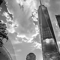 Freedom Tower Bw by Ross Turiano