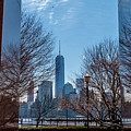 Freedom Tower Framed by Len Tauro