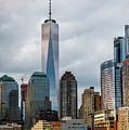 Freedom Tower - Lower Manhattan 1 by Frank Mari