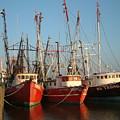 Freeport Shrimper Fleet by Mark Grayden