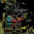 Freeway Park Steps by Tim Allen