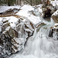 Freeze On The Basin Trail Nh by Michael Hubley
