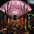 Fremont Street by David Lee Thompson