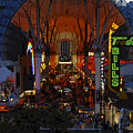Fremont Street Nevada by David Lee Thompson