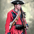 French And Indian War British Royal American Soldier by Randy Steele