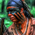 French And Indian War Indian Warrior by Randy Steele
