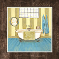 French Bath 2 by Debbie DeWitt