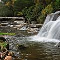 French Broad Falls And Mill Shoals Falls by Jill Lang