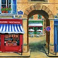 French Butcher Shop by Marilyn Dunlap