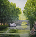 French Canal by Shirley Braithwaite Hunt