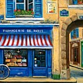 French Cheese Shop by Marilyn Dunlap