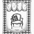 French Country Fauteuil by Adam Zebediah Joseph
