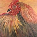 French Country Rooster by Nadine Rippelmeyer