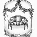 French Country Sofa by Adam Zebediah Joseph