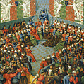 French Court, 1458 by Granger