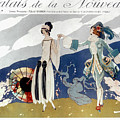 French Fashion Ad, 1923 by Granger